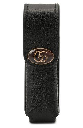 Женская косметичка porte-rouges GUCCI черного цвета, арт. 615998/DJ2QS | Фото 1
