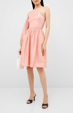 Женское платье KALMANOVICH розового цвета, арт. SS2018 | Фото 2