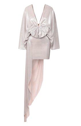 Женское платье KALMANOVICH бежевого цвета, арт. SS2014 | Фото 1