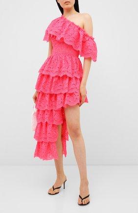 Женское платье KALMANOVICH розового цвета, арт. SS2021 | Фото 2