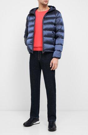 Мужская пуховая куртка HERNO темно-синего цвета, арт. PI060UR/12344 | Фото 2