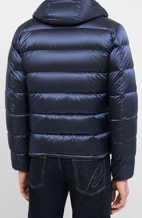 Мужская пуховая куртка HERNO темно-синего цвета, арт. PI060UR/12344   Фото 4