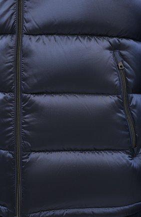 Мужская пуховая куртка HERNO темно-синего цвета, арт. PI060UR/12344   Фото 5