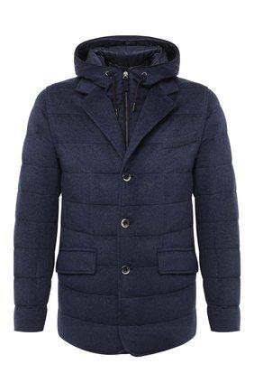 Мужская кашемировая куртка HERNO темно-синего цвета, арт. PI053UR/38025 | Фото 1