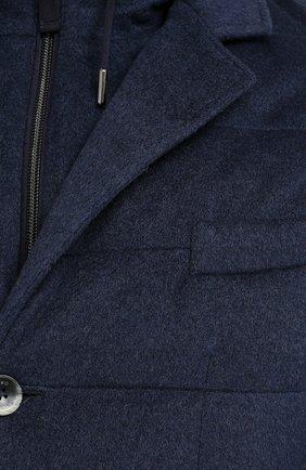 Мужская кашемировая куртка HERNO темно-синего цвета, арт. PI053UR/38025 | Фото 5