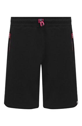 Мужские хлопковые шорты BAPE черного цвета, арт. 1F20153035   Фото 1