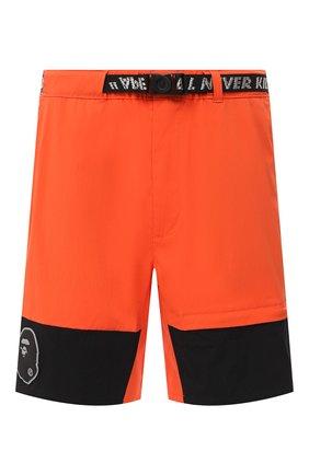 Мужские шорты BAPE оранжевого цвета, арт. 1F20153034 | Фото 1
