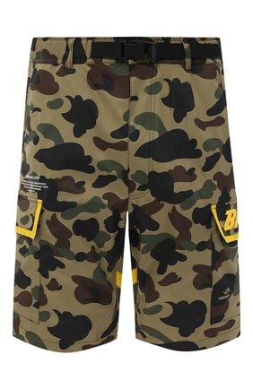 Мужские шорты BAPE хаки цвета, арт. 1F20153032   Фото 1