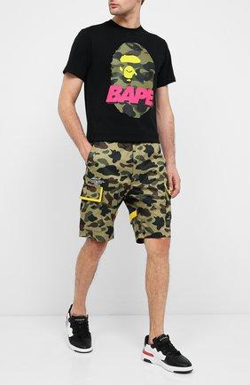 Мужские шорты BAPE хаки цвета, арт. 1F20153032   Фото 2