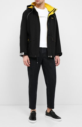 Мужская куртка BAPE черного цвета, арт. 1F20141008 | Фото 2