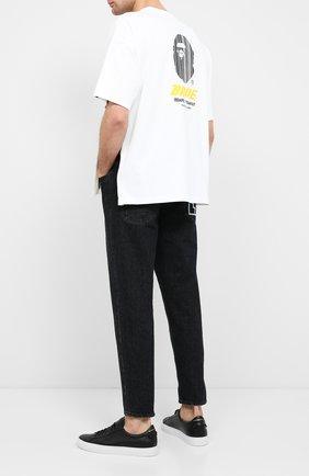 Мужская хлопковая футболка BAPE белого цвета, арт. 1F20111023   Фото 2