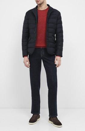 Мужская пуховая куртка zayn-l MOORER темно-синего цвета, арт. ZAYN-L/A20M040LANA | Фото 2