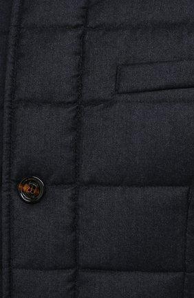Мужская пуховая куртка zayn-l MOORER темно-синего цвета, арт. ZAYN-L/A20M040LANA | Фото 5