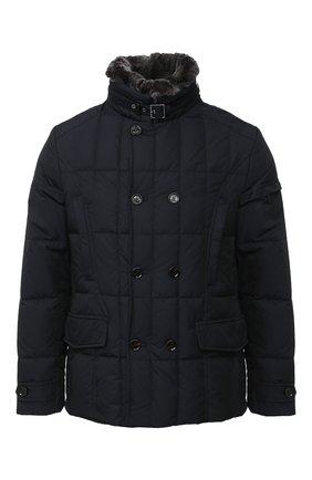 Мужская пуховая куртка siro-km MOORER темно-синего цвета, арт. SIR0-KM/A20M020SHA1 | Фото 1