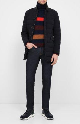 Мужская пуховая куртка nabil-kn MOORER темно-синего цвета, арт. NABIL-KN/A20M280STKN | Фото 2