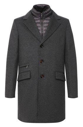 Мужской шерстяное пальто harris-le MOORER серого цвета, арт. HARRIS-LE/A20M090LEN0 | Фото 1
