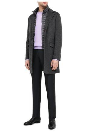 Мужской шерстяное пальто harris-le MOORER серого цвета, арт. HARRIS-LE/A20M090LEN0 | Фото 2