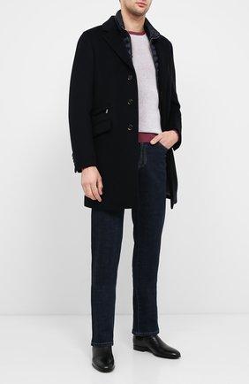 Мужской шерстяное пальто harris-le MOORER темно-синего цвета, арт. HARRIS-LE/A20M090LEN0 | Фото 2