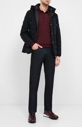 Мужская пуховая куртка craig-kn MOORER темно-синего цвета, арт. CRAIG-KN/A20M210STKN | Фото 2