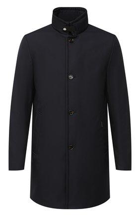 Мужская пуховое пальто MOORER темно-синего цвета, арт. B0ND-WI/A20M061WIND | Фото 1