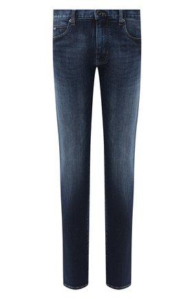 Мужские джинсы EMPORIO ARMANI синего цвета, арт. 6H1J45/1DU1Z | Фото 1