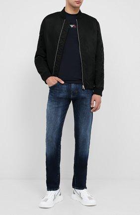 Мужские джинсы EMPORIO ARMANI синего цвета, арт. 6H1J45/1DU1Z | Фото 2