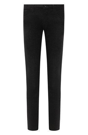 Мужские джинсы EMPORIO ARMANI черного цвета, арт. 6H1J06/1DM1Z | Фото 1