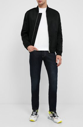 Мужские джинсы EMPORIO ARMANI синего цвета, арт. 6H1J06/1DH9Z | Фото 2