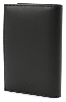 Мужская кожаная обложка для паспорта valentino garavani VALENTINO черного цвета, арт. UY2P0588/LVN | Фото 2