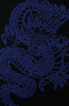 Мужские хлопковые носки STORY LORIS темно-синего цвета, арт. 5911 | Фото 2