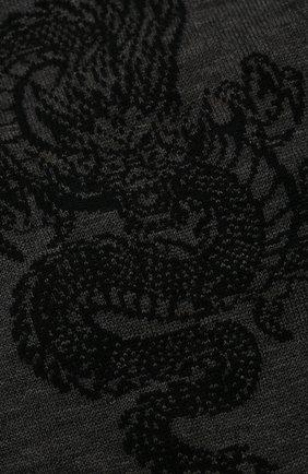 Мужские хлопковые носки STORY LORIS темно-серого цвета, арт. 5911 | Фото 2