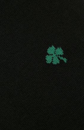 Мужские хлопковые носки STORY LORIS черного цвета, арт. 5347 | Фото 2