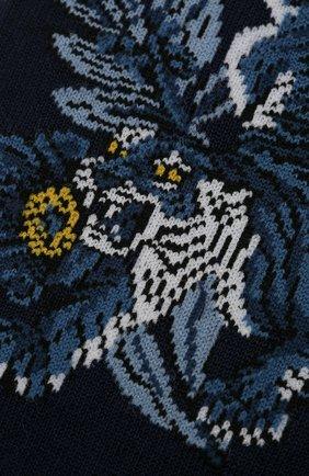 Мужские хлопковые носки STORY LORIS темно-синего цвета, арт. 5171 | Фото 2