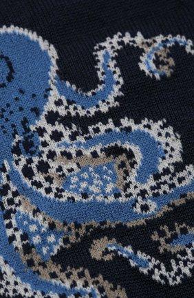 Мужские хлопковые носки STORY LORIS темно-синего цвета, арт. 5135 | Фото 2