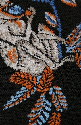 Мужские хлопковые носки STORY LORIS черного цвета, арт. 5127 | Фото 2
