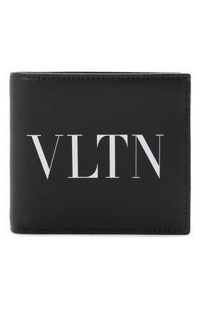 Мужской кожаное портмоне valentino garavani VALENTINO черного цвета, арт. UY2P0654/LVN | Фото 1