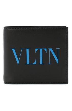 Мужской кожаное портмоне valentino garavani VALENTINO черного цвета, арт. UY2P0654/JEY | Фото 1