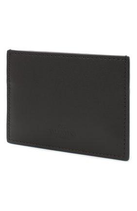 Мужской кожаный футляр для кредитных карт valentino garavani VALENTINO черного цвета, арт. UY2P0448/LVN | Фото 2