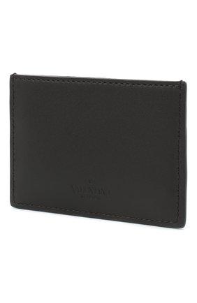 Мужской кожаный футляр для кредитных карт valentino garavani VALENTINO черного цвета, арт. UY2P0448/JEY | Фото 2