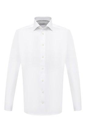 Мужская хлопковая сорочка ETON белого цвета, арт. 3000 79512 | Фото 1