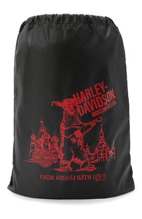 Женская сумка exclusive for moscow HARLEY-DAVIDSON черного цвета, арт. BGCUS0330 | Фото 1