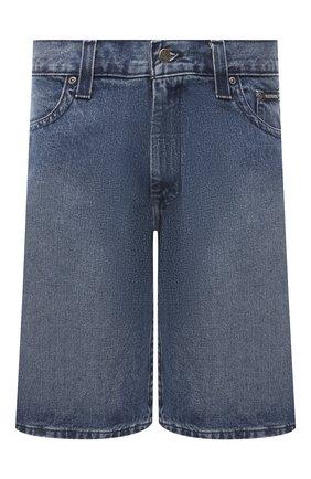 Мужские джинсовые шорты genuine motorclothes HARLEY-DAVIDSON синего цвета, арт. 96701-12VM   Фото 1