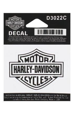 Мужская наклейка HARLEY-DAVIDSON черно-белого цвета, арт. D3022C | Фото 1