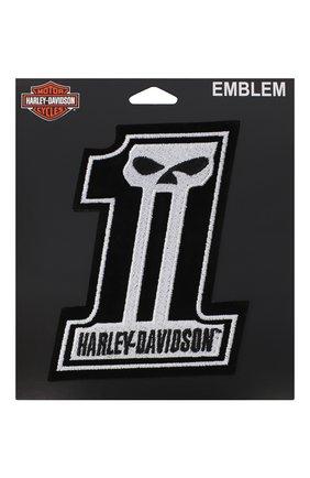 Мужская нашивка HARLEY-DAVIDSON черного цвета, арт. EM718302 | Фото 1