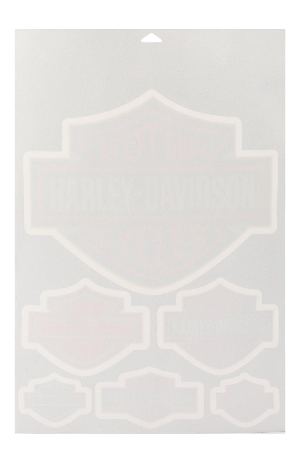 Мужская наклейка HARLEY-DAVIDSON оранжевого цвета, арт. DW302   Фото 2 (Материал: Синтетический материал; Кросс-КТ: другое)
