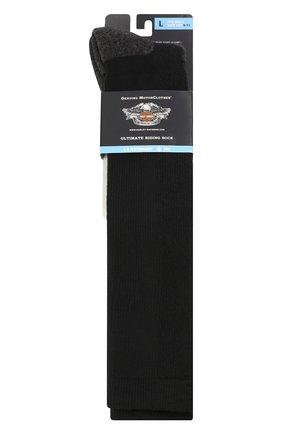 Мужские носки HARLEY-DAVIDSON черного цвета, арт. 99975770 | Фото 2