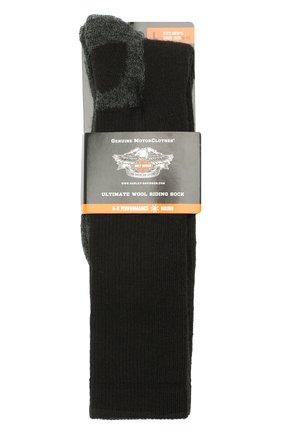Мужские носки HARLEY-DAVIDSON черного цвета, арт. 99985670 | Фото 1
