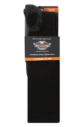 Мужские носки HARLEY-DAVIDSON черного цвета, арт. 99985670 | Фото 2
