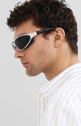 Мужские солнцезащитные очки HARLEY-DAVIDSON белого цвета, арт. HD1001 | Фото 2