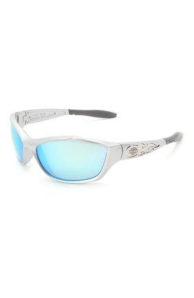 Мужские солнцезащитные очки HARLEY-DAVIDSON белого цвета, арт. HD1000 | Фото 1